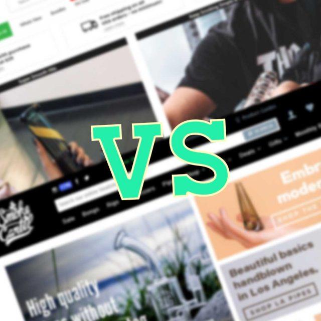 Smoke Cartel Vs. DankStop: Battle of the Online Head Shops