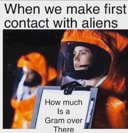alien weed meme