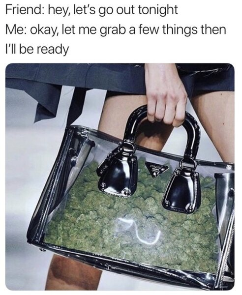 let's go out tonight weed meme