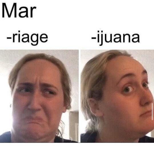 marriage vs marijuana meme