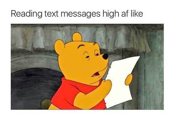 winnie the pooh weed meme